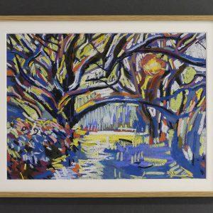 Low sun through trees -£350