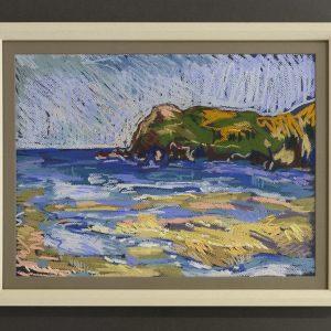 Wet sand low tide - £350